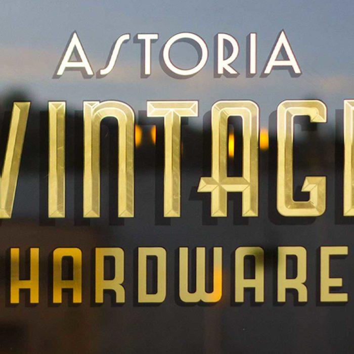 Vintage Hardware Doors